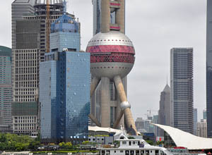 Oriental Pearl TV Tower, Shanghai